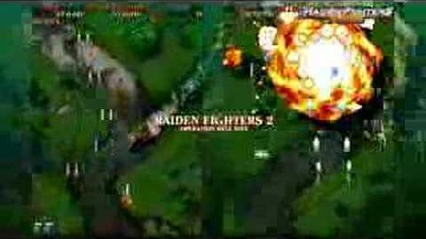 Raiden Fighters Aces first ever trailer video