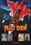 Raiden Arcade Flyer
