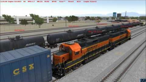 RTS Run8 Fresno Crew Switching BNSF Bakersfield part 4 of 4