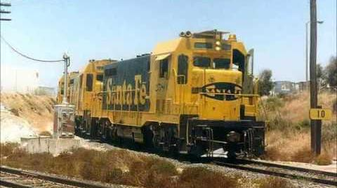 Images of Santa Fe Railway - 1970's and 80's