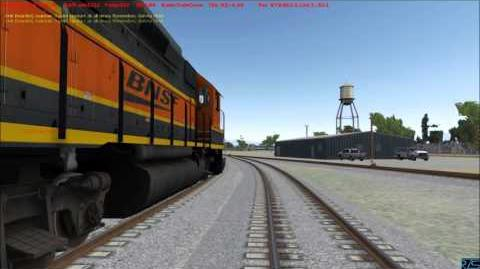 RTS Run8 Fresno Crew Switching BNSF Bakersfield part 1 of 4