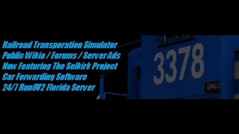 5 20 - RTS Run8V2 - Introduction To The Selkirk Project