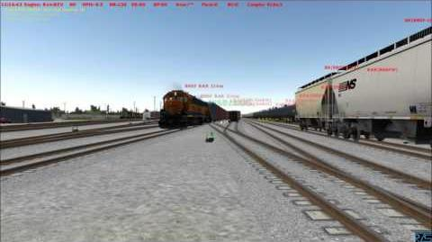 RTS Run8 Fresno Crew Switching BNSF Bakersfield part 2 of 4