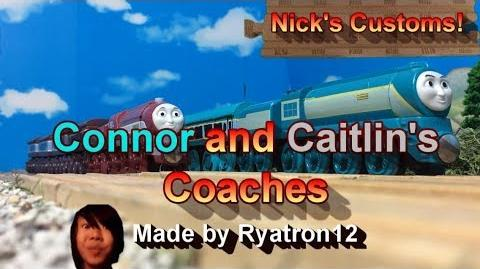Connor and Caitlin's Coaches - Nick's Customs!