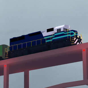 Ferrocarril Freighter Modern Rails Unlimited Roblox - rails unlimited train building scale roblox