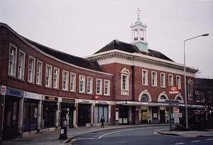 Exeter-Central-Queen-Street-Entrance