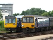 Exeter St Davids - FGW 142064 and 143611