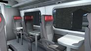 Class 801 passenger view side