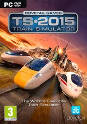 Train Simulator 2015 box art