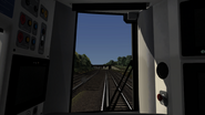 Class 377 cab view