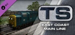 East Coast Main Line Route Add-On Steam header