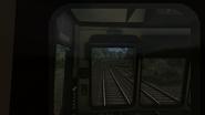 Class 107 passenger view cab