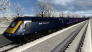 HST First Great Western 'Dynamic Lines' profile