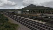 Castle Rock Railroad Larkspur station