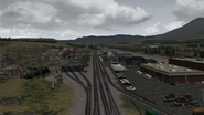 Castle Rock Railroad Larkspur shed