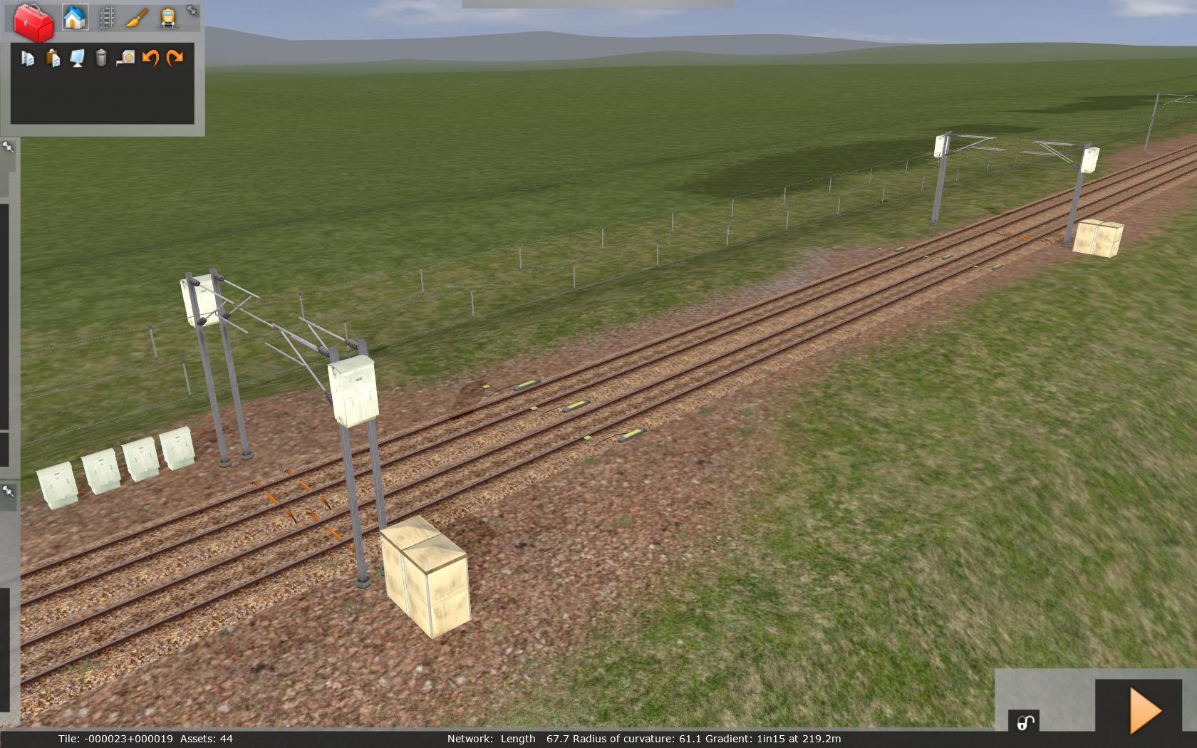 Route building tutorial railworks wiki fandom powered by wikia ohle infrastructure malvernweather Choice Image