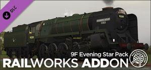 9F Evening Star RailWorks Add-on Steam header