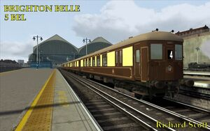 Brighton Belle UKTS header