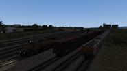 Castle Rock Railroad Monument sidings