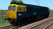 RSC Class 33-0 BR Blue