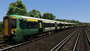 Class 377 Southern profile