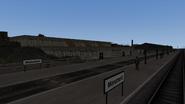 Castle Rock Railroad Monument station