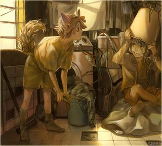 Laundry by viki vaki-d4c3m6b
