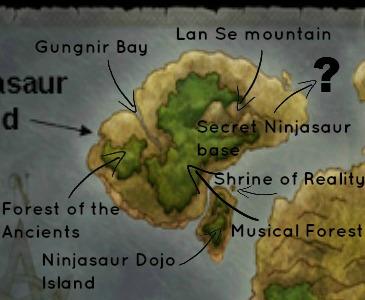 Da map! (Ninjasaur Edition)