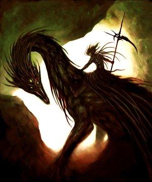 Dragon rider by basara1988