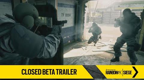 Rainbow Six Siege – Closed Beta Trailer ES