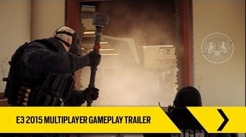 Tom Clancy's Rainbow Six Siege - Tráiler Multijugador E3 2015 ES