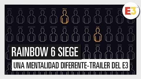 Rainbow Six Siege - Una mentalidad diferente - Tráiler del E3