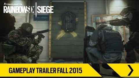 Tom Clancy's Rainbow Six Siege – Gameplay Trailer Fall 2015 ES