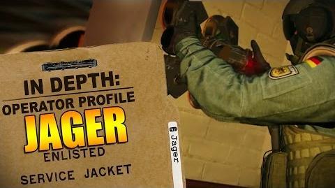 Rainbow Six Siege - Operator Profile JAGER