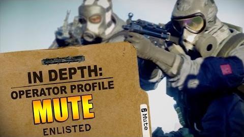 Rainbow Six Siege - Operator Profile MUTE-1