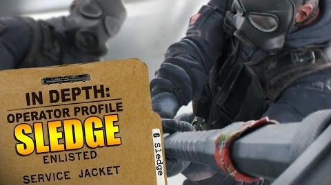 Rainbow Six Siege - Operator Profile SLEDGE