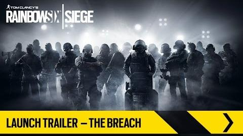 Tom Clancy's Rainbow Six Siege – Launch Trailer – The Breach ES