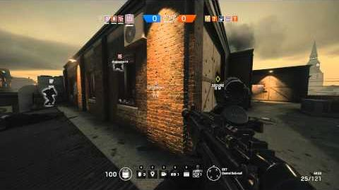 Rainbow Six Siege Ace Thatcher Club-house