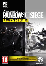 Caratula Rainbow Six Siege Advanced Edition