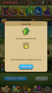 Level Up since ver 1.0.8.2