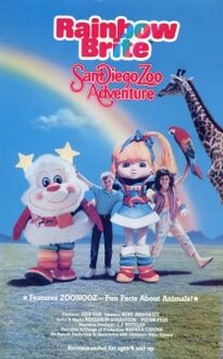 Rainbow Brite's San Diego Zoo Adventure video-cover