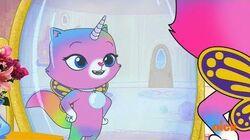 Alvin and the Chipmunks & Rainbow Butterfly Unicorn Kitty (Promo) on Nickelodeon