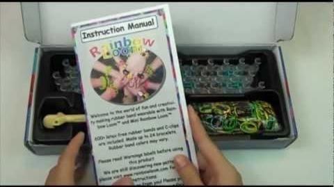 Introduction video - Rainbow Loom® (the next generation Twistz Bandz kit)-1412568936