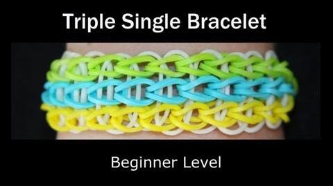 Rainbow Loom® Triple Single Bracelet-0