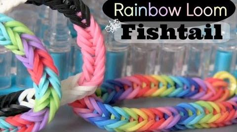 Rainbow Loom Fishtail Bracelet - How To