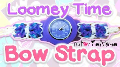 Bow Bracelet Attachement to Loomey Time Watch Tutorial How To-0