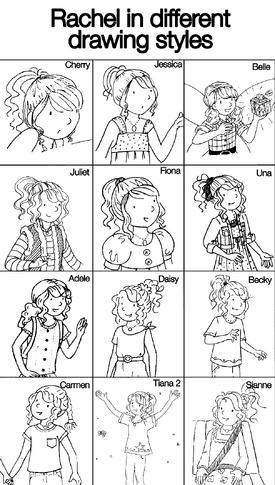Rachel illustrations