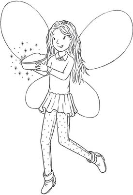 coloring pages rainbow fairies | Becky the Best Friend Fairy | Rainbow Magic Wiki | FANDOM ...