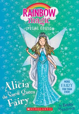 Alyssa The Snow Queen Fairy Rainbow Magic Wiki Fandom