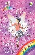 Lydia reading fairy